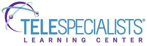 TeleSpecialists Learning Center logo
