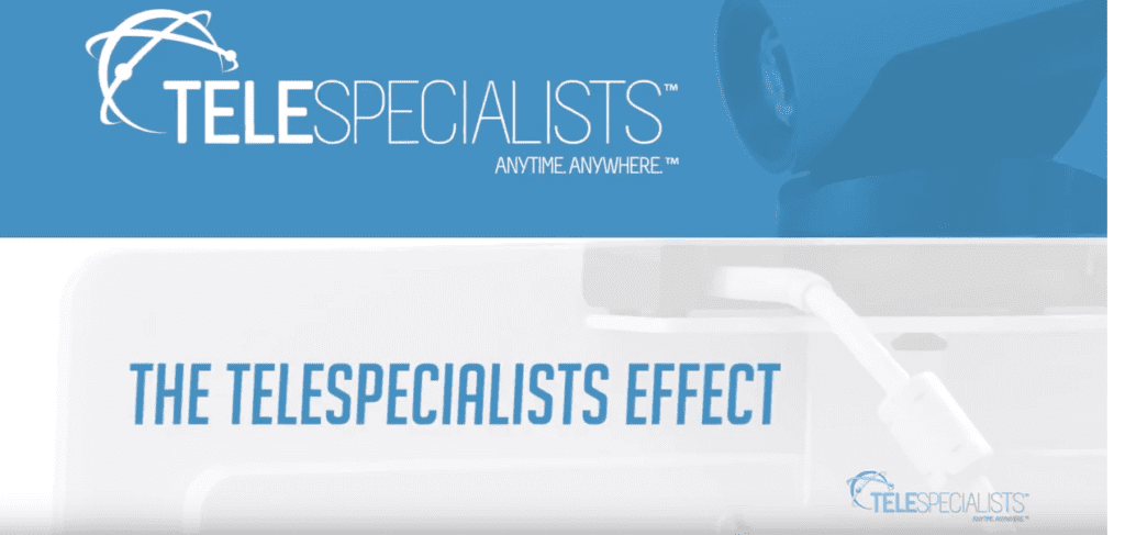 The TeleSpecialists Effect with logo