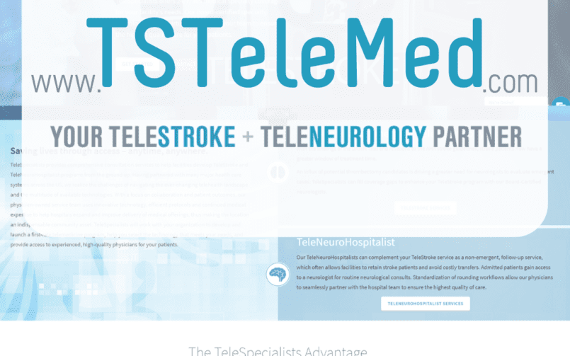 , TeleSpecialists, LLC Launches New Website