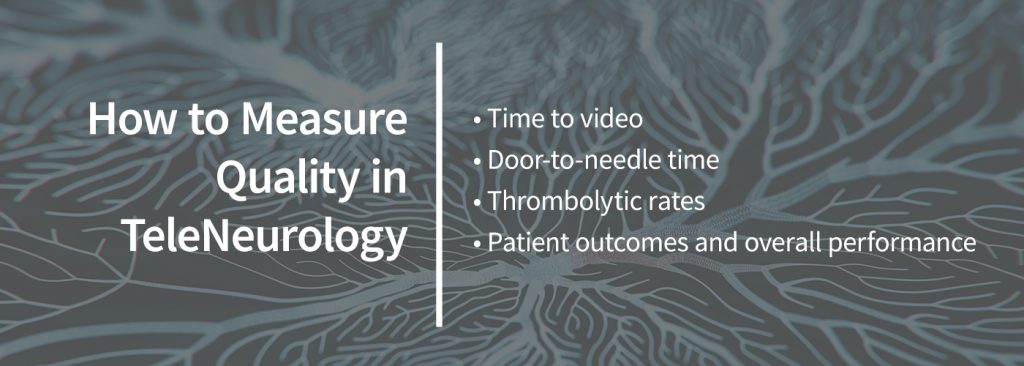 how to measure quality in teleneurology